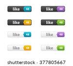 like button vector illustration