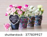 happy mothers day | Shutterstock . vector #377839927