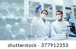 science  chemistry  technology  ... | Shutterstock . vector #377912353