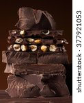 chocolate   chocolate bar  ... | Shutterstock . vector #377921053