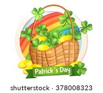 irish holiday  st. patrick's... | Shutterstock .eps vector #378008323