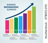 business infographics vector... | Shutterstock .eps vector #378051193