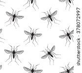 zika virus malaria alert. hand... | Shutterstock .eps vector #378072997