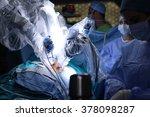 Medical Robot. Robotic Surgery...