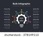 flat business presentation... | Shutterstock .eps vector #378149113