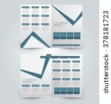 abstract flyer design... | Shutterstock .eps vector #378181723