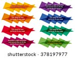 cloud for the text  geometrical | Shutterstock .eps vector #378197977