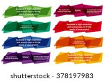 cloud for the text  geometrical | Shutterstock .eps vector #378197983