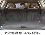 empty trunk space in modern ... | Shutterstock . vector #378252463