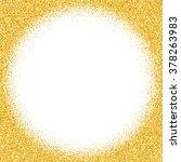 gold glitter abstract... | Shutterstock . vector #378263983