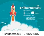 entrepreneur design and concept ... | Shutterstock .eps vector #378294307