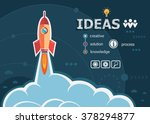 ideas design and concept... | Shutterstock .eps vector #378294877