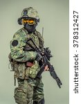 special force soldier   strike... | Shutterstock . vector #378312427