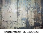 old metal colorful background. | Shutterstock . vector #378320623
