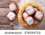 Fried Donuts Square Beignets I...
