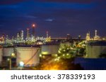 out of focus with refinery at...   Shutterstock . vector #378339193