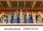 zeus  athena and other ancient... | Shutterstock . vector #378372727