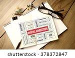 business concept  digital... | Shutterstock . vector #378372847