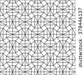 geometric seamless pattern.... | Shutterstock . vector #378446137