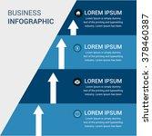 business infographics vector... | Shutterstock .eps vector #378460387