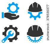 development tools vector icons. ... | Shutterstock .eps vector #378530377