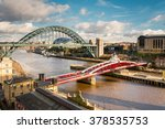 Tyne And Swing Bridges From...