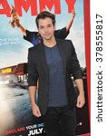 "Small photo of LOS ANGELES, CA - JUNE 30, 2014: Nathan Kress at the premiere of ""Tammy"" at the TCL Chinese Theatre, Hollywood."