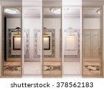 3d render of the hall in... | Shutterstock . vector #378562183