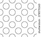 vector modern seamless geometry ... | Shutterstock .eps vector #378570163
