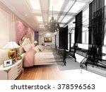 abstract sketch design of... | Shutterstock . vector #378596563