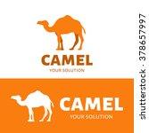 vector logo camel. brand logo... | Shutterstock .eps vector #378657997
