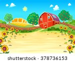 Funny Landscape With The Farm...