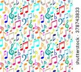 Music Seamless Pattern.music...