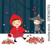 vector illustration of little... | Shutterstock .eps vector #378760753