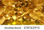 festive golden background with... | Shutterstock . vector #378762973