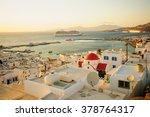 mykonos  greece   october 02 ... | Shutterstock . vector #378764317