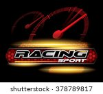racing sport concept for logo...