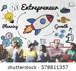 entrepreneur enterprise dealer... | Shutterstock . vector #378811357