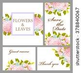 vintage delicate invitation... | Shutterstock .eps vector #378840067