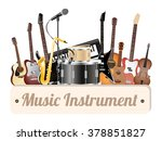 Music Instrument Wood Board...