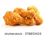 Hot And Crispy Fried Chicken...