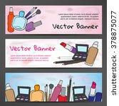 horizontal banners in... | Shutterstock .eps vector #378875077
