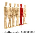 Wooden Figures   Outsider