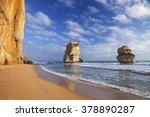 the twelve apostles along the... | Shutterstock . vector #378890287
