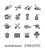 gardening icons    utility... | Shutterstock .eps vector #378923737