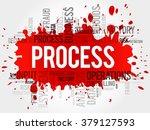 process word cloud  business... | Shutterstock . vector #379127593