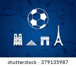 france soccer   football... | Shutterstock .eps vector #379135987
