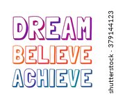 inspiration motivated quote... | Shutterstock .eps vector #379144123