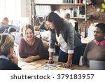 cooperation corporate... | Shutterstock . vector #379183957