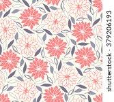 flower pattern | Shutterstock .eps vector #379206193